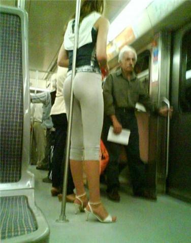 Como andar de metro