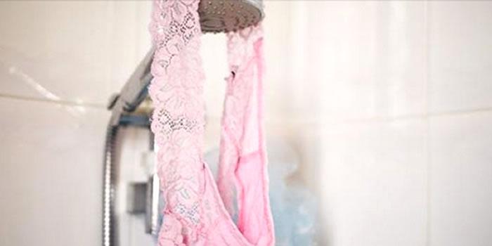 Cuecas e Calcinhas no banho