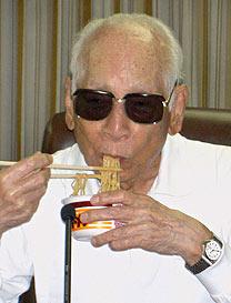 Momofuku Ando, que morreu aos 96 anos