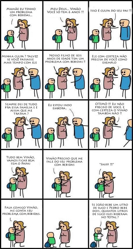 Problemas com bebidas